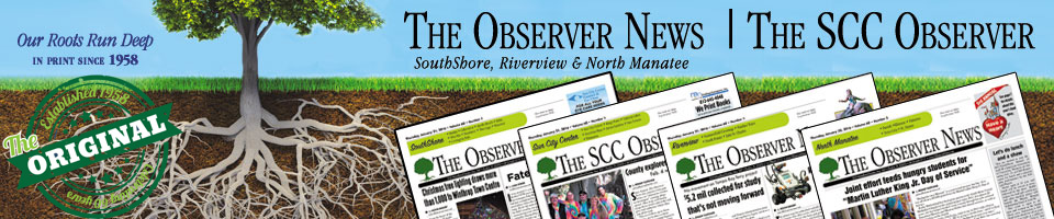 The Observer News (SouthShore, Riverview, North Manatee) – The SCC Observer