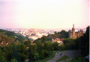 Panoramic view of Kiev.