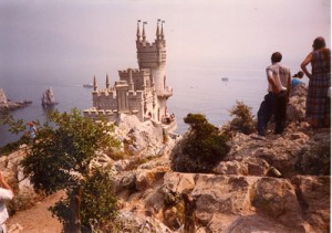 Swallow's Nest Castle in Yalta.