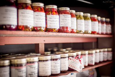 In addition to fresh vegetables and the customers' option to pick their own vegetables, the farm's produce stand is also stocked with a wide variety of jellies and other preserves, almost all entirely grown and jarred at the farm. Mitch Traphagen file photos
