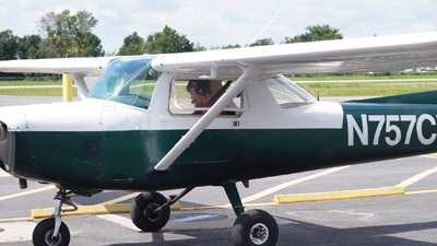 Ryan Schultz of Ruskin got his driver's license and his student pilot certificate on his 16th birthday, July 25. He can now not only drive on the road by himself, but also fly through the sky.