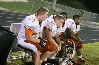 Lennard's defense has never played better under his three-year reign, said coach Keith Chattin.  Lennard High School photo.