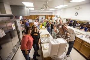 Thanksgiving Day volunteers at the United Methodist Church of Ruskin were among the many at area churches helping to make Thanksgiving special for those in need of either dinner or simply companionship. Beanie's Sports Bar and Grill provided 900 meals. Mitch Traphagen file photo