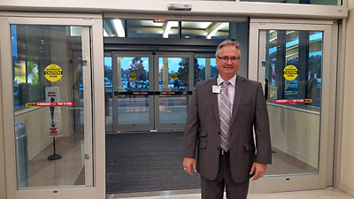 St. Joseph's Hospital South President Scott Smith was on hand for opening day at the Riverview hospital that has been more than 30 years in the making.