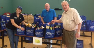 Calvary Community Cupboard accepted donations of nonperishable foods.