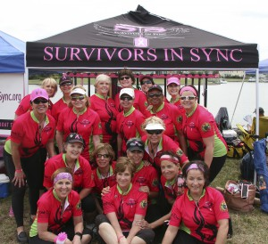 Survivors in Sync team members. LISA STARK PHOTOS