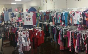 "The boutique's newly expanded ""tween"" section offers sizes up to kids 16 and small juniors."