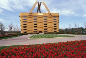 """The landmark Longaberger Headquarters, known as the """"Big Basket,"""" will no longer house any employees as the company consolidates this month."""