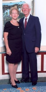 PHOTO COURTESY OF KAREN PREVATT Brenda Peichart Peash, shown here with her former, late husband, Joseph, died last August and left $200,000 from her estate to Mental Health Care Inc., now known as Gracepoint. The money will specifically fund mental healthcare services in the South Shore area.