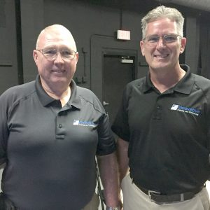 LOIS KINDLE PHOTO Retired Hillsborough County Sheriff's Office Col. Ron Hartley and retired Capt. Andrew Ross, founders of Innovative Training and Consulting, recently presented an Active Shooter Workshop at the Firehouse Cultural Center in Ruskin.