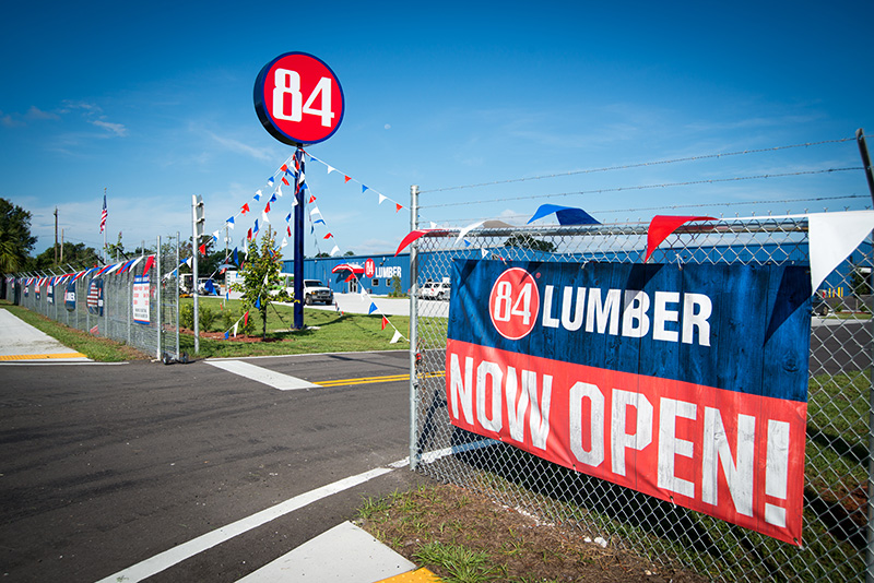 84 Lumber Opens On US 41 S Near County Line Road
