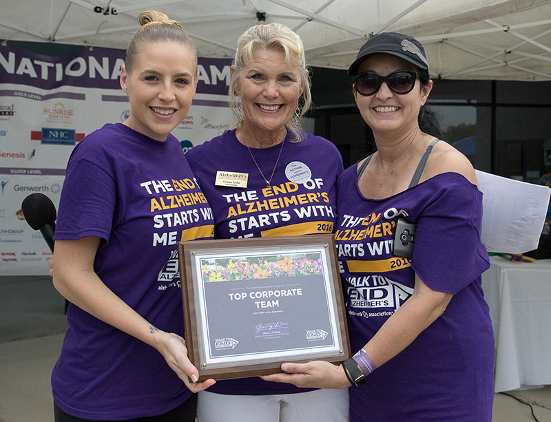Alzheimer's Walk Raises Awareness, Funds for the Fight Against the Disease