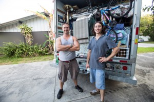 Cory Ricker and Jonathan Hurst worked hard and managed to pack our lives into a 17-foot U-Haul truck, something I was in no shape to do. Cory can be contacted at cgricker76@gmail.com. Photo Mitch Traphagen