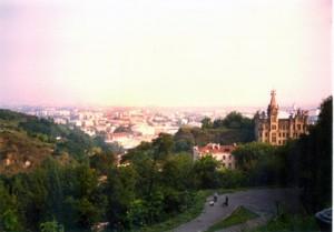 Panoramic view of Kiev.