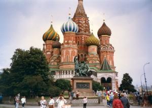 St. Basil's Cathedral, Moscow. Frank Yanacek photos