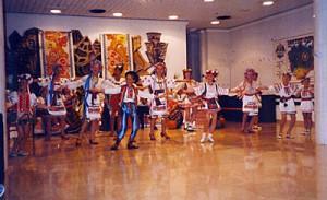 Ukrainian children's folk dance, Yalta.