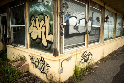 According to the HCSO, virtually all graffiti in South Hillsborough is not gang related but rather the work of taggers, people who do it for notoriety. Mitch Traphagen photo