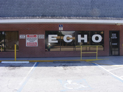 ECHO is located at 507 N. Parsons Ave. (north of S.R. 60) and shares a building with the Brandon Outreach Clinic, which helps people with medical expenses when they lack the money to pay, are underinsured or have no health insurance.