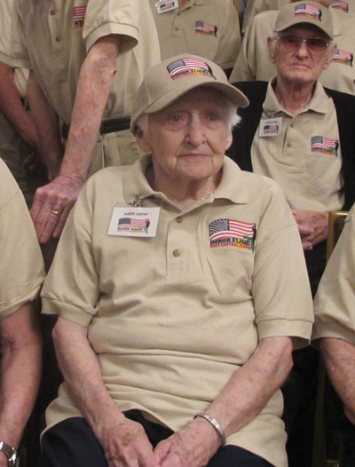 Judith Joyner, a veteran of World War II,  helped to evacuate Germans from the occupied territories in central and eastern Europe.