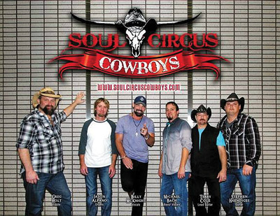 Tampa's own Soul Circus Cowboys will be among the headliners for the event.