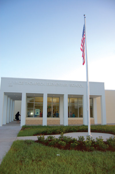 J. Vince Thompson Elementary School in Ruskin. Chere Simmons photos.