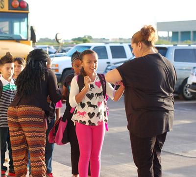 arriving-at-school