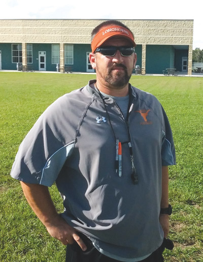 Lennard coach Keith Chattin is seeing his three-year plan for success at Lennard paying off. Kevin Brady photo.