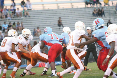 Lennard came from behind to beat King in a game either team could have won.