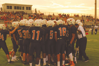 Lennard hosts Chamberlain Sept. 12 in an attempt to extend the team's best-ever start to a season. Jacob Council photo.