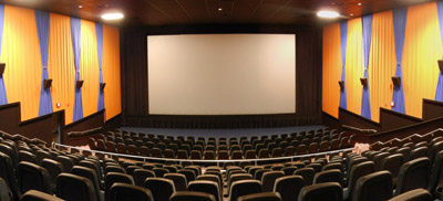 The new movie theater is being designed by Paradigm Design of Grand Rapids, Mich. Above, the MJR Grand Digital 16 in Westland, Mich., a Paradigm-designed theater that opened in November 2014. Paradigm Design photo.
