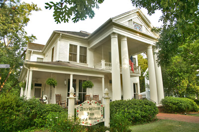The Antebellum Inn bed-and-breakfast in Milledgeville, Ga.