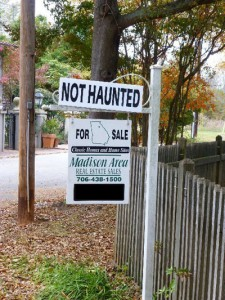 "In Madison, Ga., finding an historic home that's ""not haunted"" must be an anomaly."
