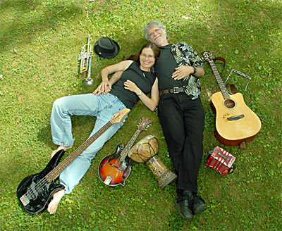 Sound Traveler features the multi-instrument musicality of Bob Tatum and Patty Kunze Ratum.
