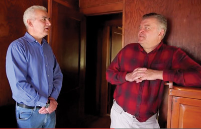 """A clip from the documentary """"Project Children"""" showing Brady and Cheever in a recent reunion in New York."""