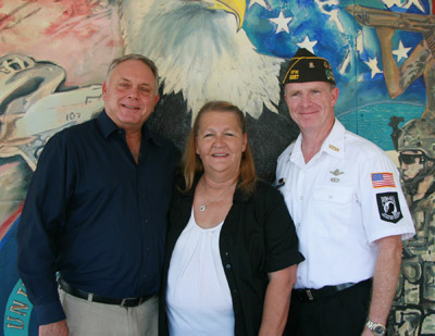 From left: Randall Harrell, Dianna Gorby and Steve Latchford.