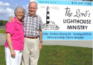 After a lifetime of helping others Pastor William and Dora Cruz, the area's first family of giving, retired in 2008. Retirement didn't suit the two then 70-year-olds. They started The Lord's Lighthouse Mission a short time later.