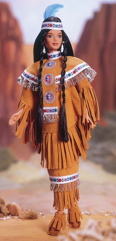 Peters fashions doll clothes as a way of commemorating her ancestors.