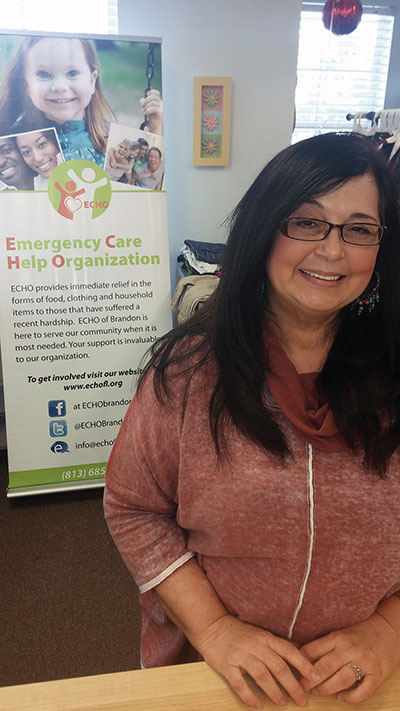 Trader Tots Resale was happy to team up with ECHO for the fundraiser, said Store Manager Tami Kimes.