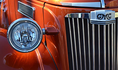 """Vintage GMC"" by Gina Hebert took first place (level 2) in color digital."
