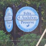 The Felts Preserve is located at the corner of Experimental Farm Road and 24th Avenue East, north of Palmetto. Otis and Anita Felts donated the 27-acres to the Manatee Audubon Society in 2002 to preserve it from development.