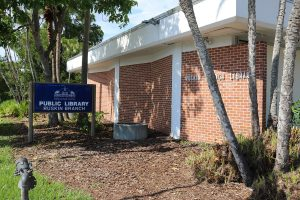 The Ruskin Branch Library celebrated 50 years of service on June 8. The building sits on the bank of Ruskin Inlet (Marsh Creek) in area once known as Hibiscus Park.
