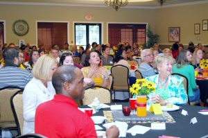 More than 150 incoming teachers and their principals from a dozen area schools were recently welcomed and treated to breakfast, goodies and lots of accolades at Southshore Falls, courtesy of the SouthShore Chamber of Commerce.