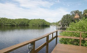 My Warrior's Place sits in a tranquil setting along the Little Manatee River in Ruskin.