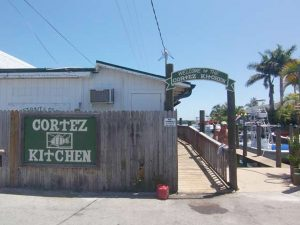 Von still performs weekend gigs at Cortez Kitchen, the center of the historic fishing dock, where he started working at the age of 14.