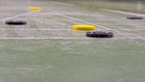 Shuffleboard is currently undergoing a resurgence among young people and hipster types who seek a fun, easy-going environment in which to play and socialize.