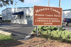 The Manatee County Mosquito Control District, at 2317 Second Ave. W., Palmetto, is a self-governing taxing district.