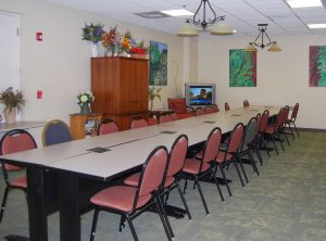 The Enrichment Center program at the Renaissance on 9th has several rooms for activities, such as arts and crafts, meetings, Tai Chi, and yoga.