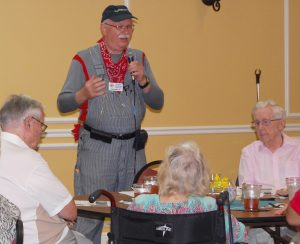 CARL MARIO NUDI PHOTOS The Lunch Club, a program of the Enrichment Center at Renaissance on 9th, offers weekly speakers, such as Jim Zientara, of the Florida Railroad Museum in Parrish, who recently gave a talk on the history of Florida railroads.