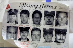 Signs in search of loved ones and heroes who went missing at and near the World Trade Center on September 11 were omnipresent in the city in the days and months that followed.