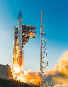 Troy McClellan/Full Dome FX Multimedia photo Liftoff of OSIRIS-REx Spacecraft on an Atlas V Rocket from Cape Canaveral Air Force Station Launch Complex 41.